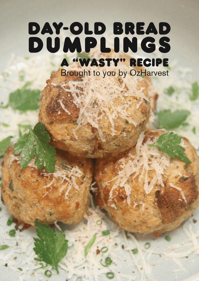 Day-old bread dumplings