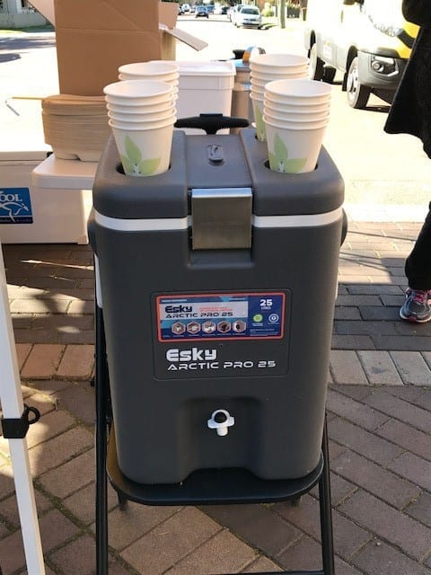 Hunter Water - donated hydration stations